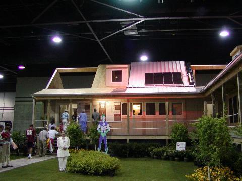 Zero Energy Cottage at the Atlanta Home Show 2002