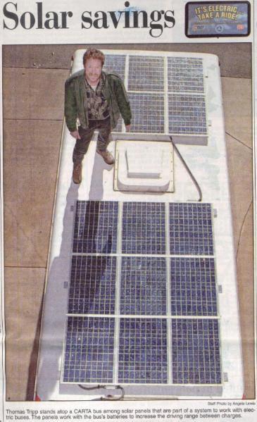 Solar Electric Bus