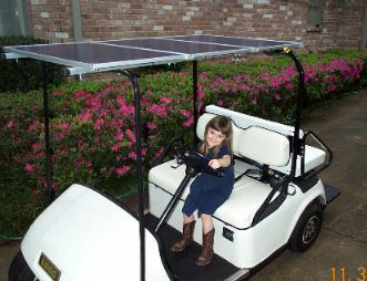 Solar Electric Golf Cart